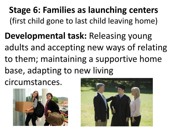 Stage 6: Families as launching