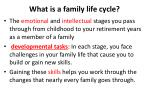 what is a family life cycle