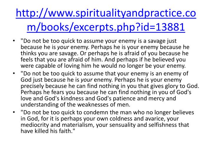Http www spiritualityandpractice com books excerpts php id 13881