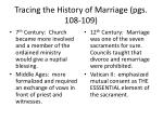 tracing the history of marriage pgs 108 1092