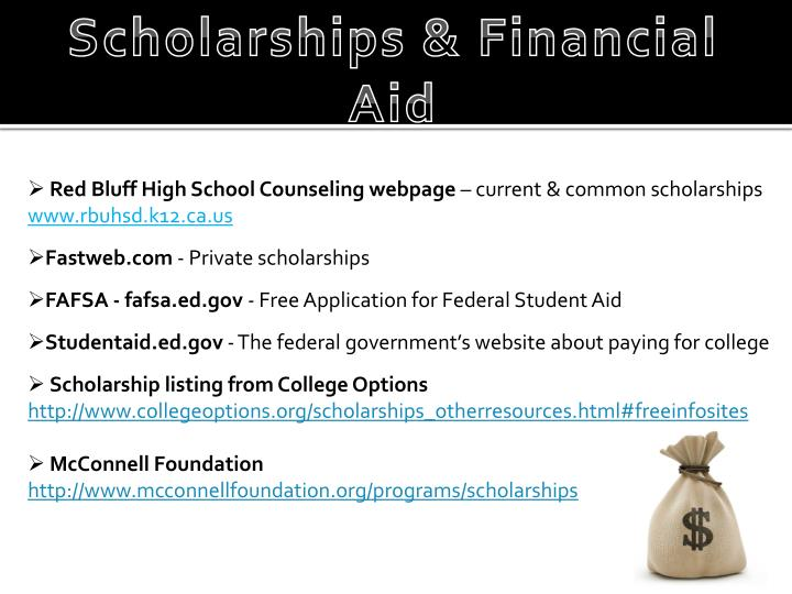 Scholarships & Financial