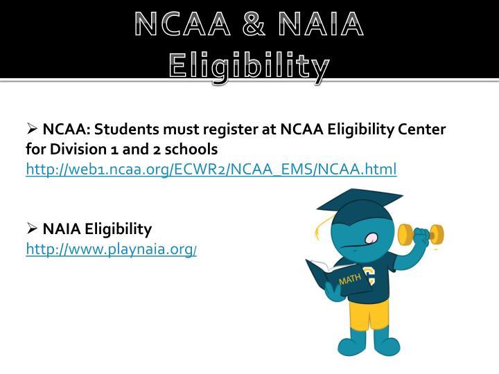NCAA & NAIA