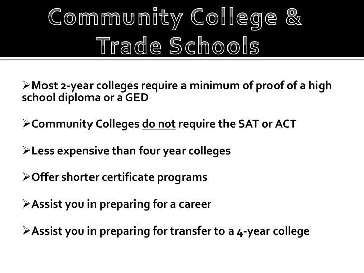 Community College &