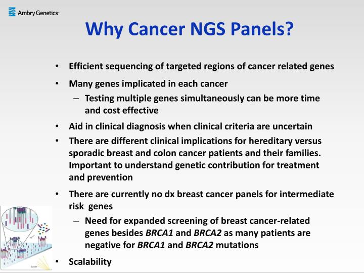 Why Cancer NGS Panels?