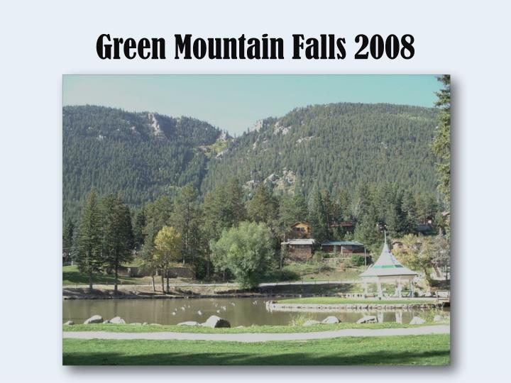 Green mountain falls 2008