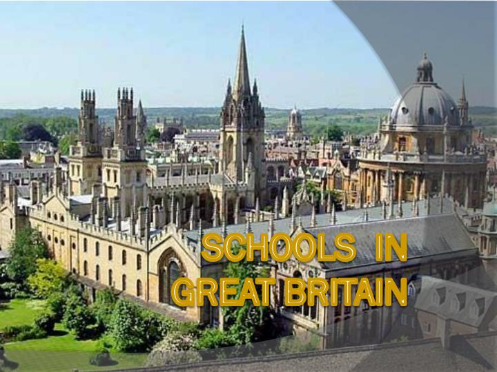 Schools in great britain