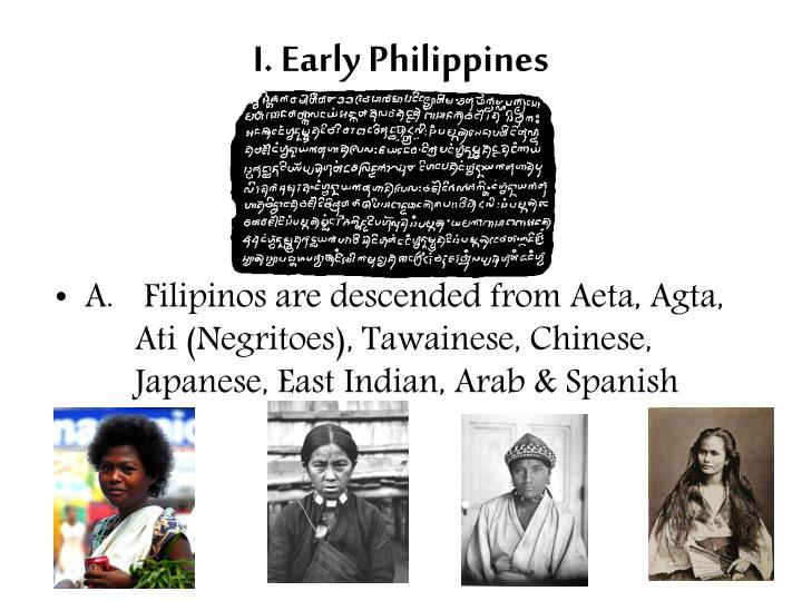I. Early Philippines