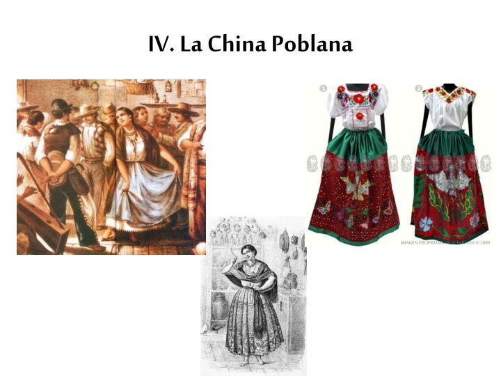 IV. La China
