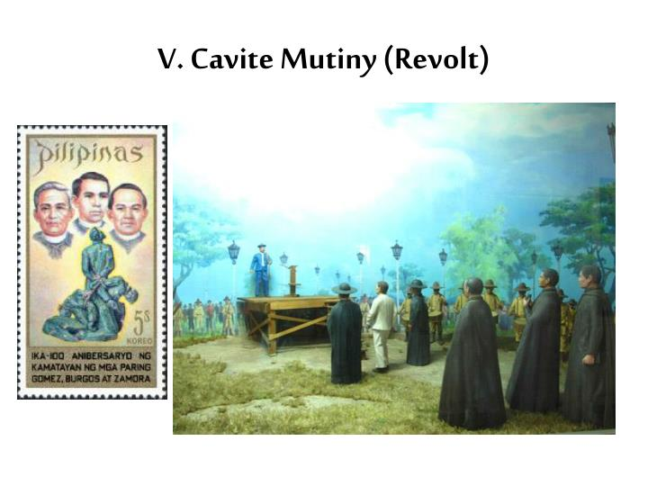 V. Cavite Mutiny (Revolt)