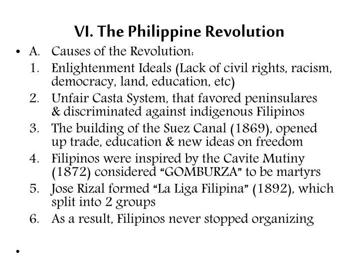 VI. The Philippine Revolution