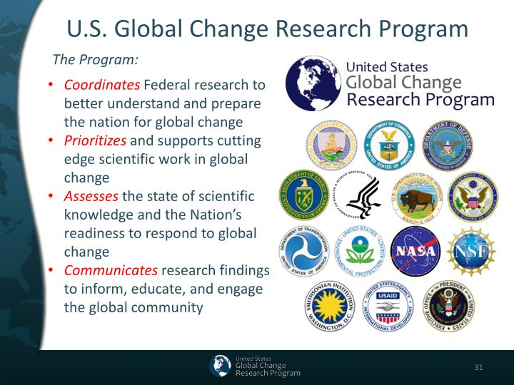 U.S. Global Change Research Program