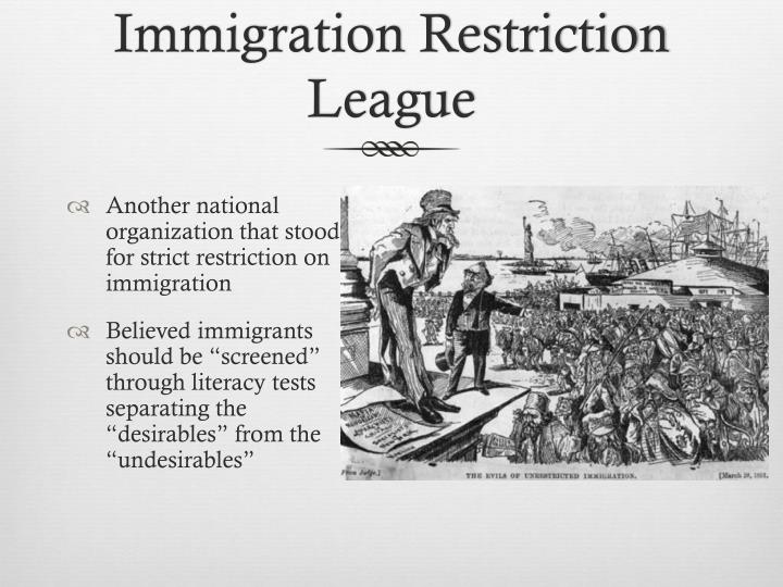 Immigration Restriction League