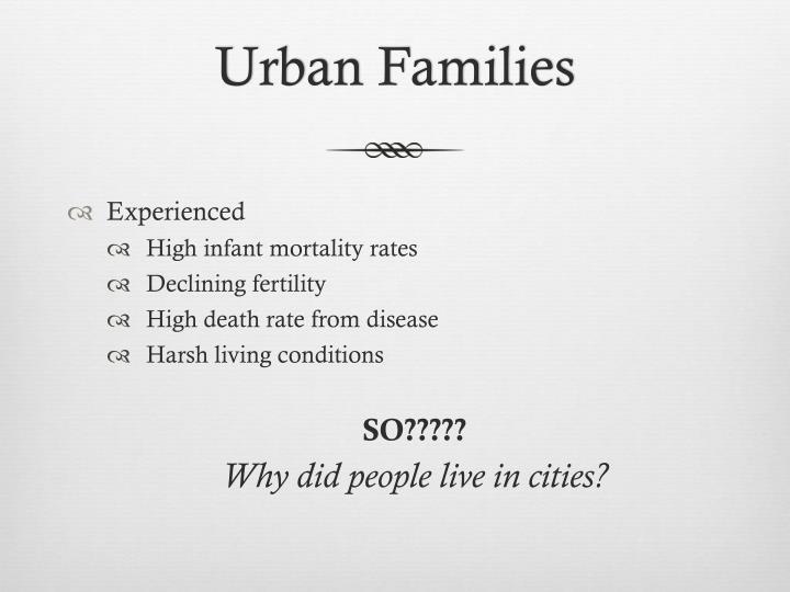 Urban Families