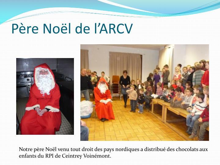 Père Noël de l'ARCV