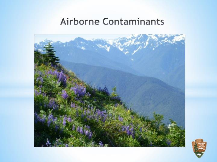 Airborne Contaminants