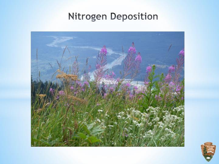 Nitrogen Deposition