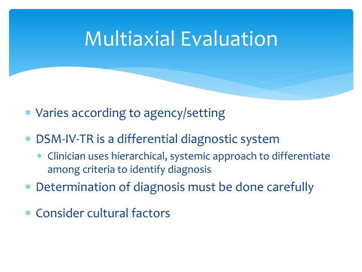 Multiaxial