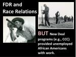 fdr and race relations1