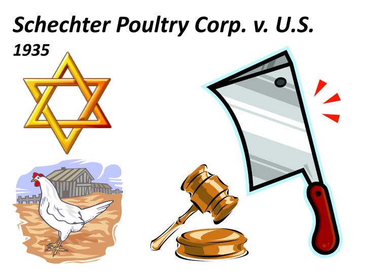 Schechter Poultry Corp. v. U.S.