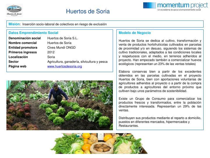 Huertos de Soria