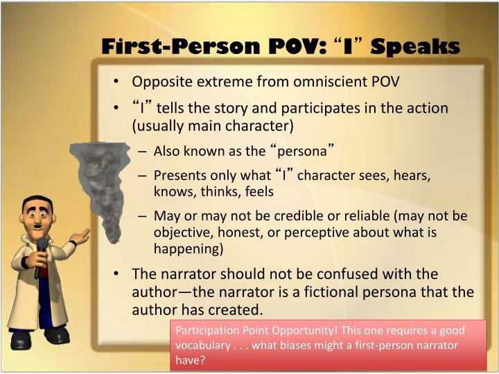 First-Person POV:
