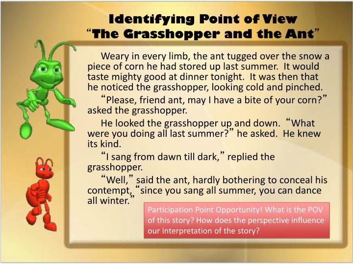 Identifying Point of View