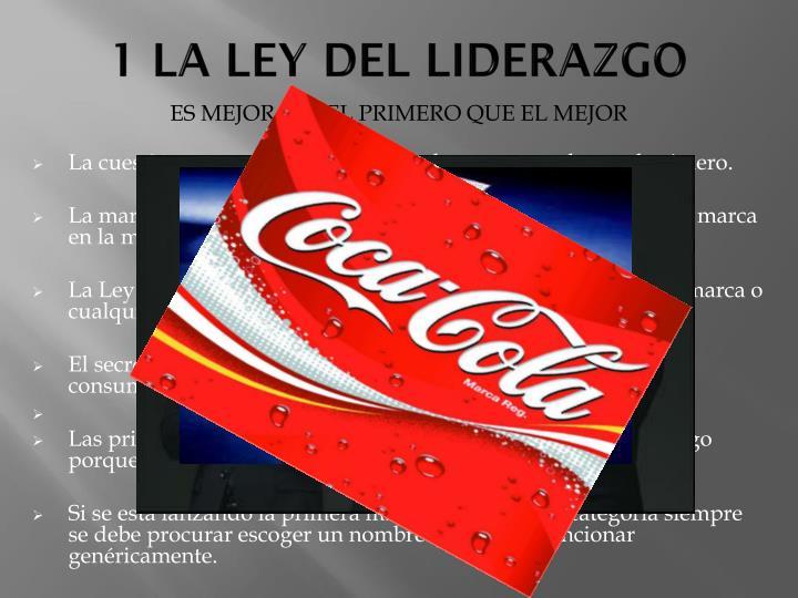 1 LA LEY DEL LIDERAZGO