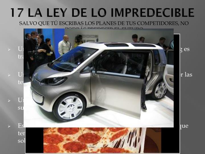 17 LA LEY DE LO IMPREDECIBLE