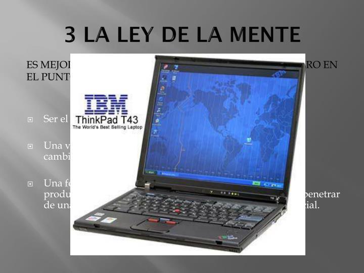 3 LA LEY DE LA MENTE