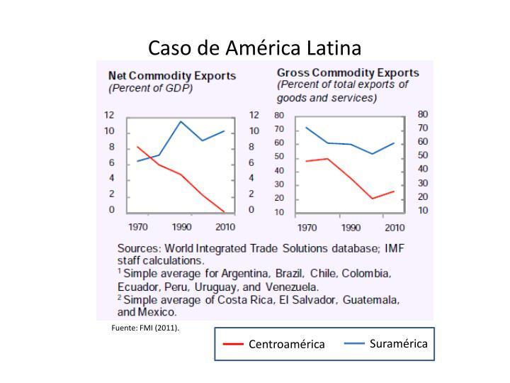 Caso de América Latina