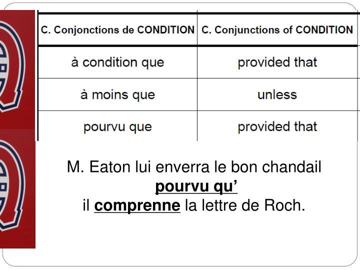 M. Eaton