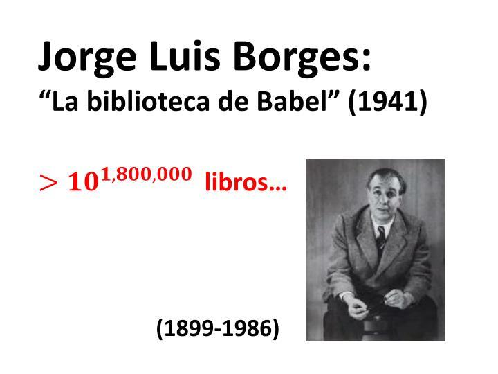 Jorge Luis Borges: