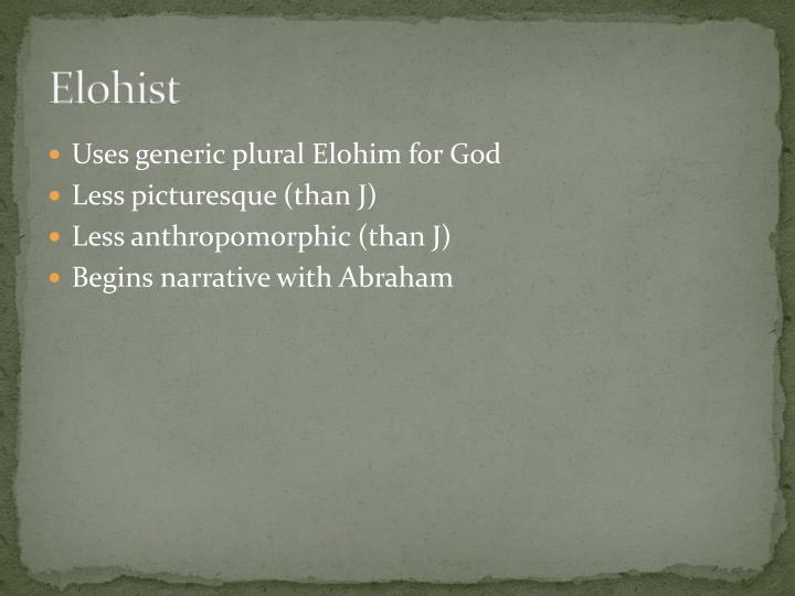 Elohist