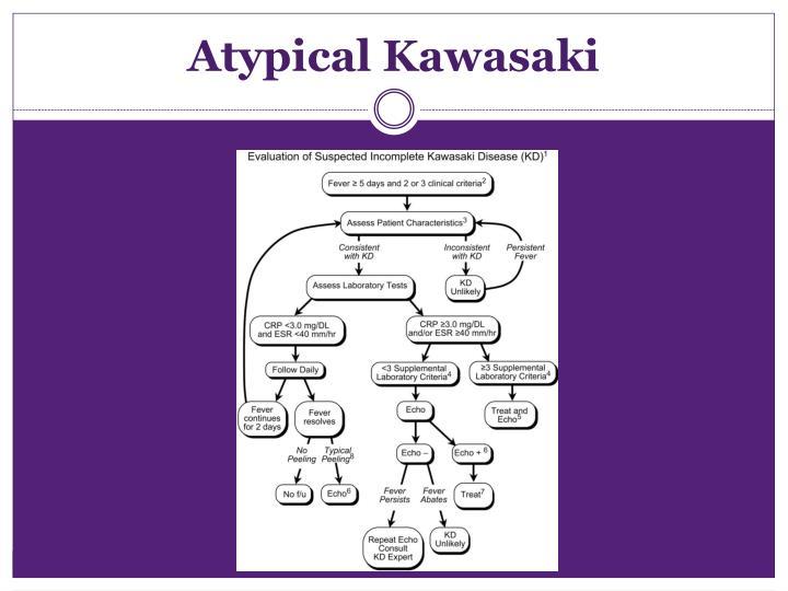 Atypical Kawasaki
