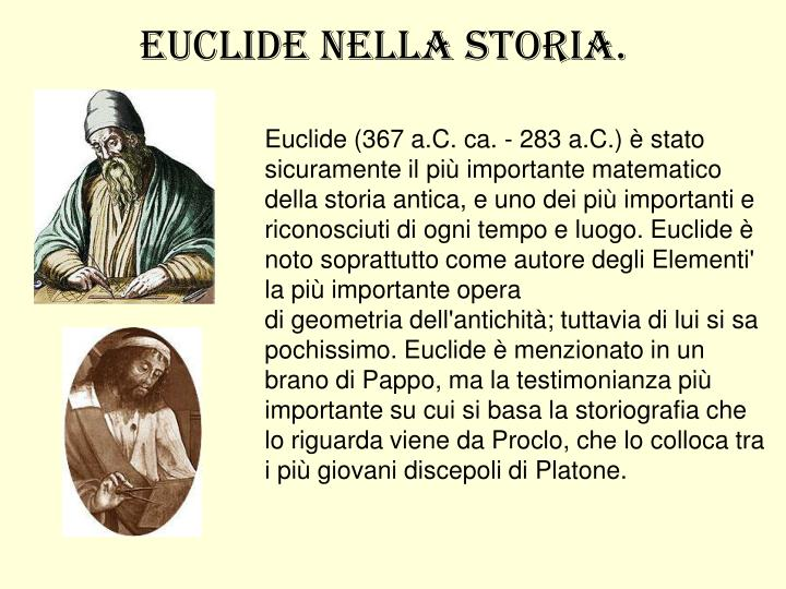 Euclide (367 a.C.