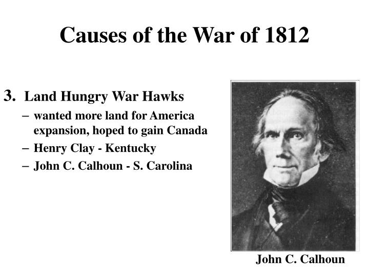 Causes of the War of 1812