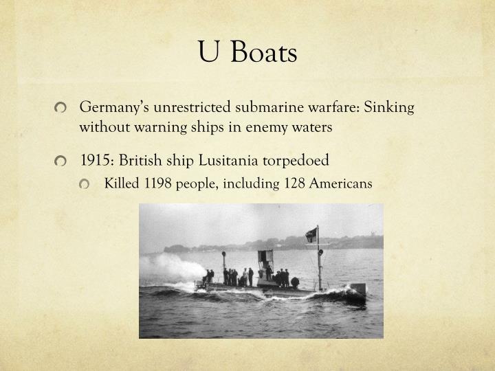 U Boats