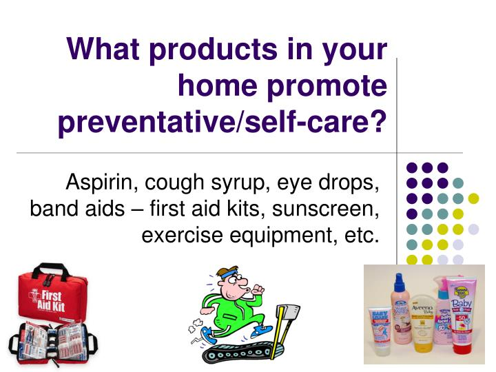 What products in your home promote