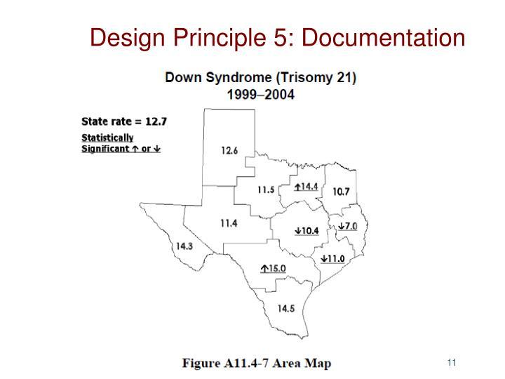 Design Principle 5:
