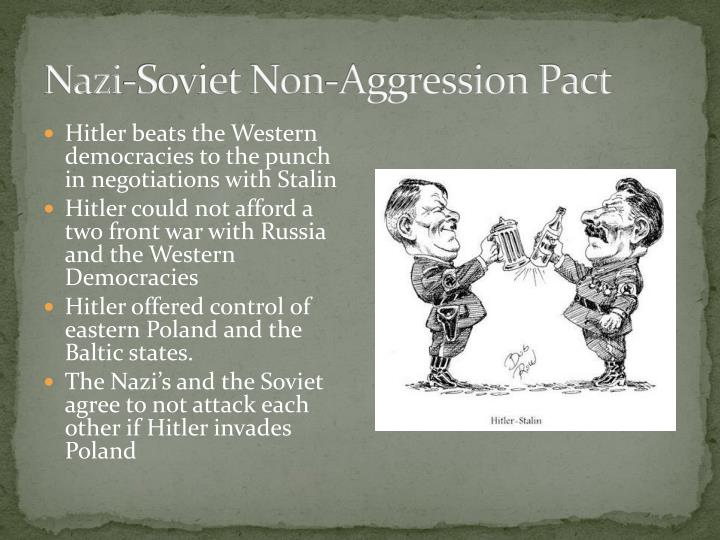 Nazi-Soviet Non-Aggression Pact