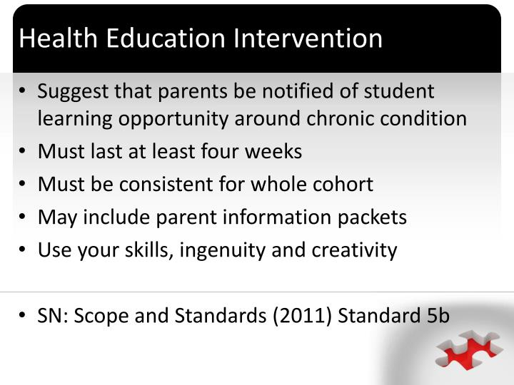 Health Education Intervention