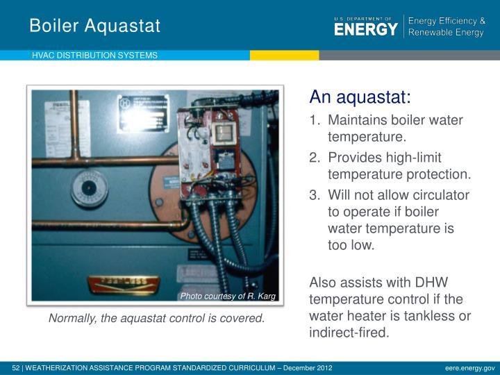 Boiler Aquastat