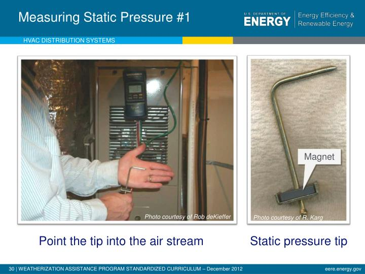 Measuring Static Pressure #1