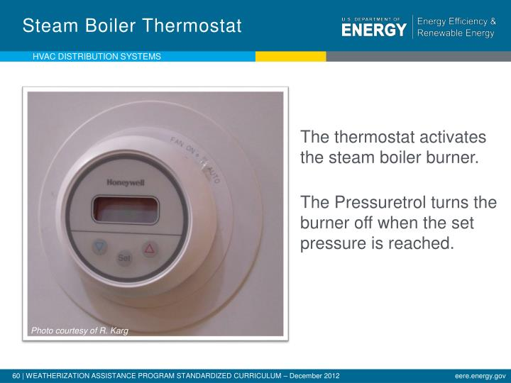 Steam Boiler Thermostat
