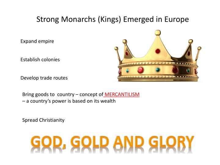 Strong Monarchs (Kings) Emerged in Europe
