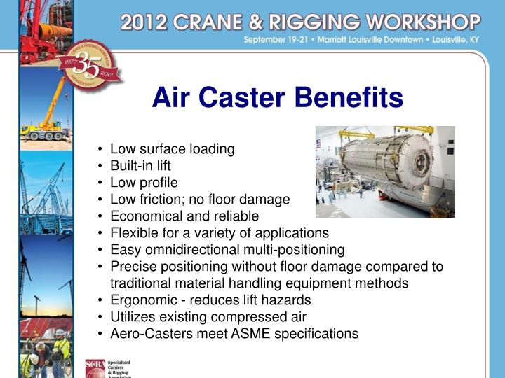 Air Caster Benefits