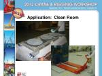 application clean room1