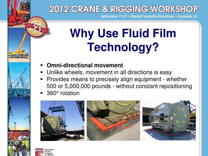 Why Use Fluid Film Technology?