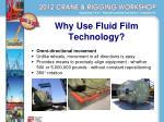 why use fluid film technology1
