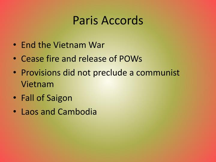 Paris Accords